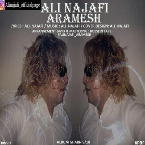 دانلود موزیک جدید علی نجفی آرامش