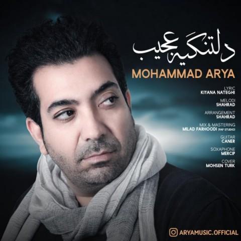 دانلود موزیک جدید محمد آریا دلتنگیه عجیب