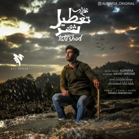دانلود موزیک جدید علی پارسا تعطیل شد