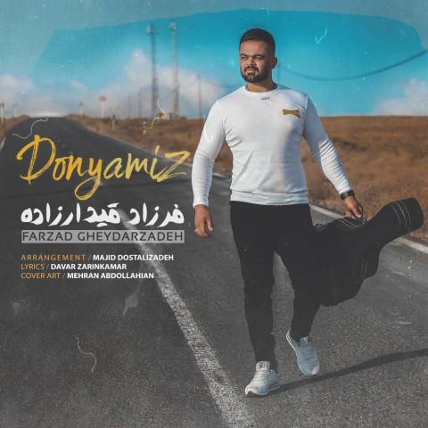 دانلود موزیک جدید فرزاد قیدارزاده دنیامیز
